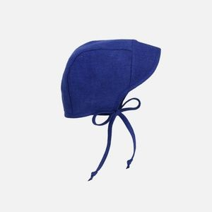 RARE! Briar Handmade Brimmed Cobalt Bonnet